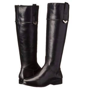 Jack Rogers Womens Harper Riding Boots Black 6.5
